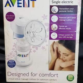 Electric and Manual Breast Pump