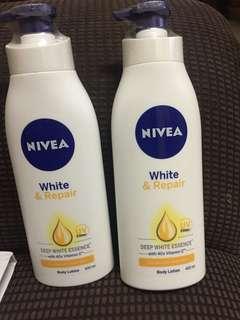 nivea white and repair 400ml