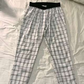 Country Road Grid Check pants size 4 6 XS