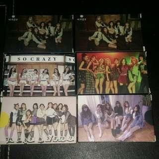 SNSD/BLACKPINK/APINK/TARA/GFriend/KARD Lomo Card Set