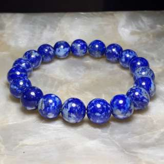10mm Lapis Lazuli Bracelet
