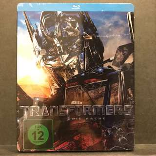 TRANSFORMERS 2: REVENGE OF THE FALLEN Blu-ray Steelbook Germany-Import US$28/S$35