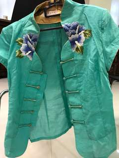 Chinese oriental style blouse