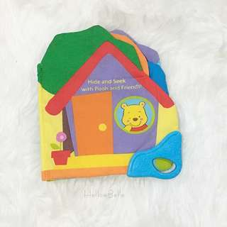 Hide And Seek with Pooh and Friends! Baby Soft Book.
