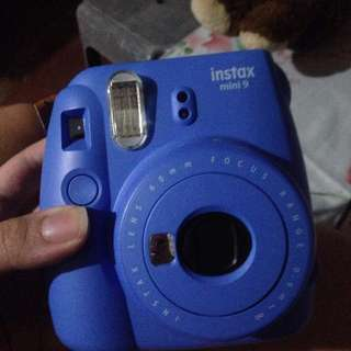 INSTAX MINI 9 COBALT BLUE