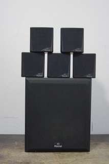 Magnat 5.1 speakers 喇叭 8成新