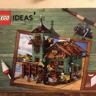 Lego 21310 Old Fishing Store 全新未開正常盒