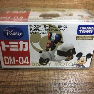 Tomica Disney 米奇 電單車 dm-04