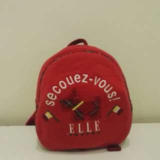 Elle sport mini backpack