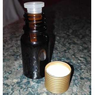 10ml and 30ml amber bottle with stopper