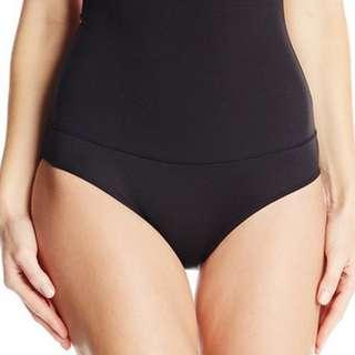 black seamless short thigh innerwear shapewear girdle