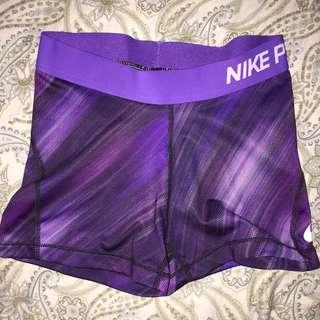 Purple Nike Pro