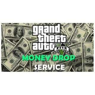 GTA 5 MONEY DROP / MONEY SERVICE
