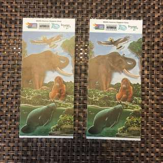 (Child Ticket Sold) 1 Adult + 1 Child Zoo Tickets