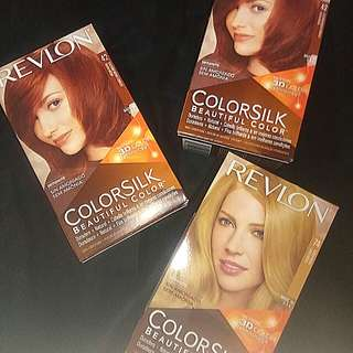 $4 - REVLON COLORSILK HAIRCOLOR NEW!!