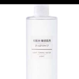 Muji toning water LIGHT