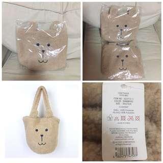 SALE 65% Off - BNWT Authentic Craftholic MOCO RAB BEIGE TOTE Bag