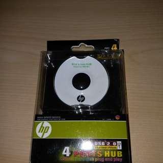 全新 HP 4 ports Hub (usb 2.0) 如圖 , 超抵