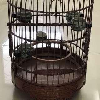 (Old)Puteh bird cage