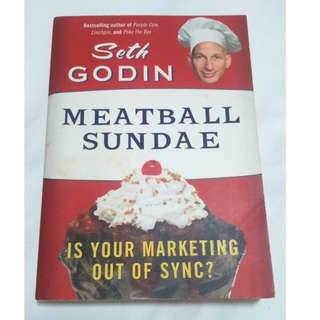 [Educational Book] Meatball Sundae: Is Your Marketing out of Sync?