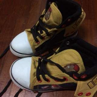 Iron Man Hi-cut Sneakers #Bajet20