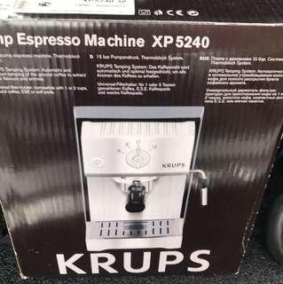 Krups pump coffee machine