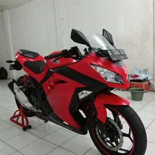 Kawasaki ninja 250 fi th (PMK) km low superbb cash/kredit sejabodetabek,cikarang & serang