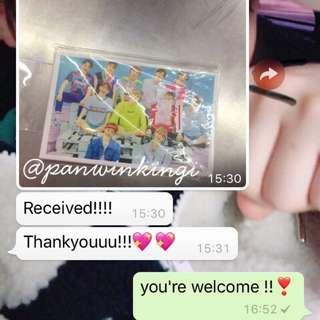 [PROOF] Wanna One Photocards