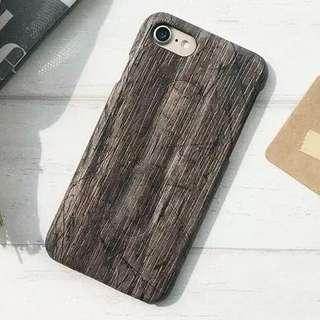 Iphone x 木款手機殻
