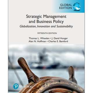 Strategic Management and Business Policy, Global Edition eBook