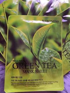 Baroness - Green Tea Face Mask
