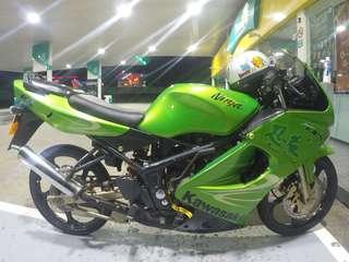Kawasaki kr krr zx150 double r rr kenji hijau green coverset