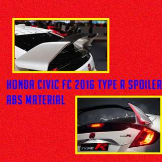 HONDA CIVIC FC 2016 TYPE R SPOILER