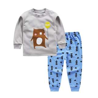 Baby Unisex Long Sleeve Clothes - Ideal for aircon room