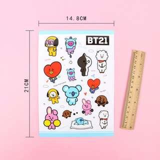 BTS BT21 sticker