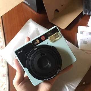 Leica Sofort Instant Camera with 10 Films