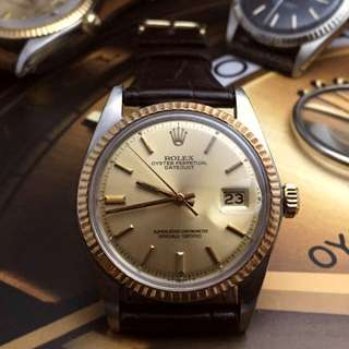 SOLD-        36mm Rolex Sigma Dial Men's Datejust