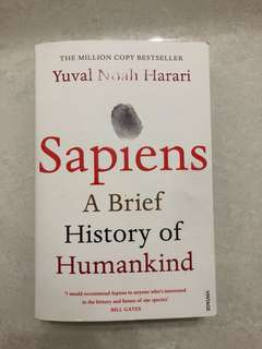 Sapiens - a brief history of mankind