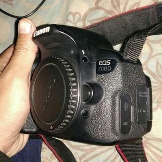 Canon 700D Fullset