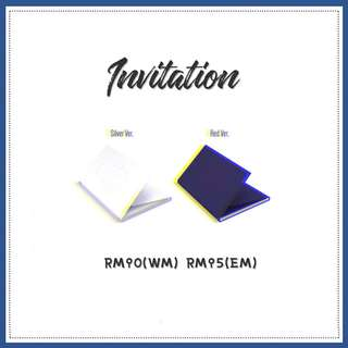 Preorder - UP10TION Invitation