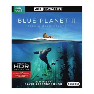 🆕 Blue Planet II 4K UHD Blu Ray