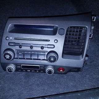 Stock radio for Honda civic 1.6,1.8,2.0