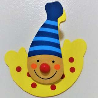 Clown Clipper with Magnet