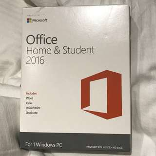 Office 2016 (Home & Student)