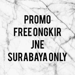 FREE ONGKIR SURABAYA