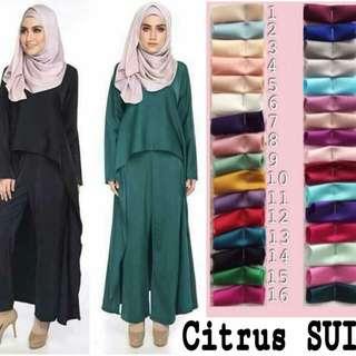 Muslimah Pants Suits