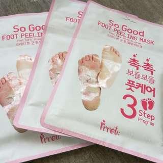 SO Good foot  peeling mask..original
