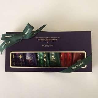 Innisfree Perfumed Handcream Miniature Set