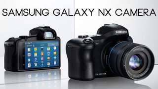 Brand New Samsung Galaxy NX with 18-55mm
