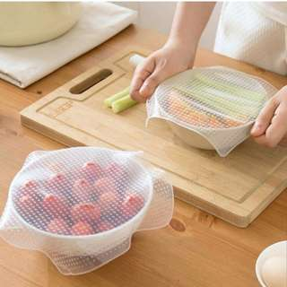Reusable Multifunction Silicon food wrap